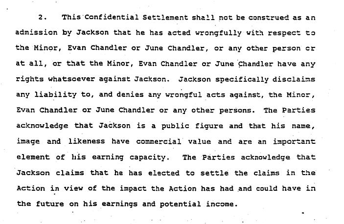 The Jordie Chandler Settlement Revisited Mj Facts