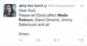 Ebola? Seriously?