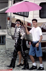 James, 16, with Jackson and wife Lisa Marie Presley - Budapest '94. Luckily for Presley, James doesn't allege any sex abuse by Jackson during the visit.