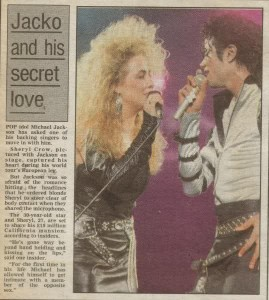Jimmy liked Sheryl Crow, not Jackson. Jackson thought she was 'ugly'.