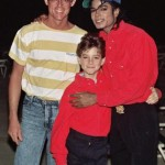 Jackson and Jimmy on that Hawaii trip in February 1988. (Photo credit: Alan Light.)