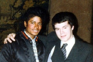 Michael Jackson and Terry George