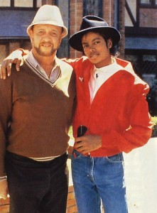 Bill Bray with a young Michael Jackson