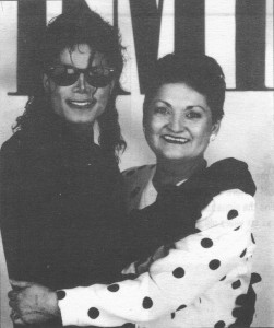 Michael Jackson and Norma Staikos