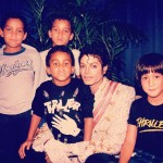 Four Nephews and a Pop Star